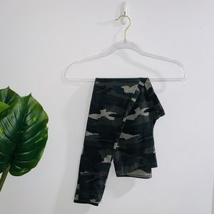 Garage Gray Camouflage Leggings Small
